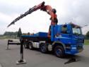 Inchiriez Camion cu Macara PK 72000, brat 28 m, capacitate 2