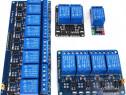 Modul cu 1,2,4 sau 8 relee comanda la 5v Arduino, esp8266