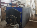 Cazan termic pe combustibil solid, 233 kw