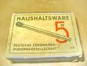 A231- Haushaltsvare Cutie tigarete germana veche carton.