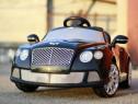 Mașinuta electrica Bentley Continental GTC 2x 30W 12V #Negru