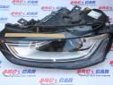 Far stanga xenon LED Audi A4 B8 8K facelift 8K0941005C