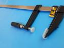 Menghina (F120/800 mm), clema tamplarie cu bara nichelata