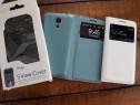 Husa Noua Flip S-view pt Samsung Galaxy S4 Mini,Noua,Piele