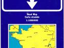 Franța Hartă rutieră mare