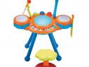 Set tobe cu microfon scaunel pentru copii fete baieti orga l