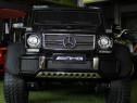 Masina Mercedes G63 6x6 cu Scaun tapitat + Scaun adulti