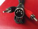 Cablu audio ecranat din-2 rca din-4 rca din-din din-jack 3,5