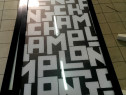 Panouri luminoase aluminiu 203 x 61 cm