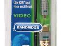Cablu HDMI cu Ethernet Bandridge BVL1701 High-Speed (1m)
