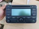Radio cd gps mp3 navigatie golf 5 passat b6 Octavia cu cod