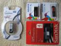 USB CARD 4GB, noi sigilate, 4 modele, schimb cu diverse, dif