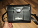 Geanta foto originala NIKON, model vintage, old