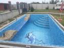 Casa partial la rosu , piscina , filigorie , 2600 mp teren