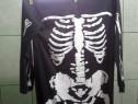 Costum schelet pentru petrecere, Haloween, distractie