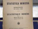 Statistica miniera a Romaniei pe anul 1933
