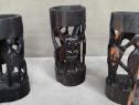 Suport pt sticla din lemn de abanos
