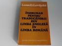 Indrumar pentru traducatorii din limba engleza levitchi
