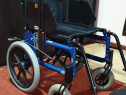 Carut scaun rulant batrani dizabilitati