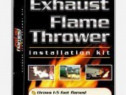 Kit flacari pe toba esapament evacuare flamethrower kit