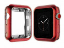 Carcasa silicon Apple Watch 38mm, husa protectie spate margi