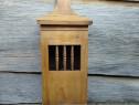 Cutie lemn minibar