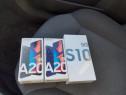 Samsung a20 si s10 5g noi sigilate la cutie 2 ani garantie
