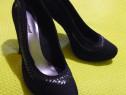 Pantofi negri Graceland