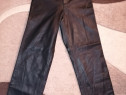 Pantaloni dama, din piele naturala, nr.36