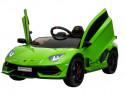 Masinuta electrica Lamborghini Aventador SVJ 2x35W #Verde