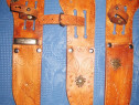 113-TEACA piele noua pt cutite, stilete stare buna groasa.