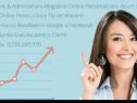 Creare magazin online cu toate functionalitatile incluse