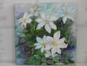 Flori 1-pictura ulei pe panza
