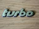 Emblema scris TURBO
