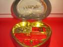 4425-Caseta bijuterii cantatoare dama model inimioara.