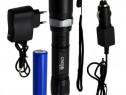 Lanterna SWAT LED 3W CREE Q5 Metalica Reincarcabila C30