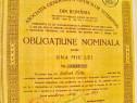 B329-I- Obligatiune nominala a Medecilor Veterinari 1000 lei