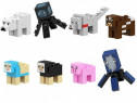 Set 8 Minifigurine tip Lego Minecraft cu Polar Bear si Squid