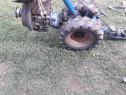 Cositoare pe două roți motor de 10 cai lamă 1 metru si 10