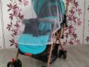Carucior MACACA Comfort YA-2305-8 albastru pentru copilasi !