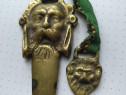 Cutit de corespondenta bronz masiv