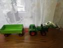Macheta tractor și remorca