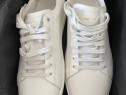 Sneakers Yves Saint Laurent,all white SL/01,produs original.