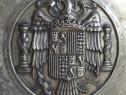 Aplica platou cu Stema franciză a Spaniei Una Grande Libre