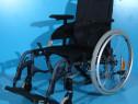 Scaun cu rotile din aluminiu Invacare / sezut 42 cm