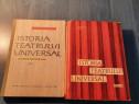 Istoria teatrului universal de Horia Deleanu 2 volume