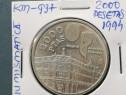 Moneda 2000 pesetas, 1994