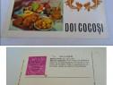 Doi cocosi - carte postala format mare