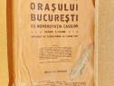 B842-I-Harta veche Bucuresti Noul Plan 1921-Cpt. M.C. Pantea