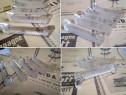 5 suporturi/sprijin din cristal decorat, pentru tacamuri